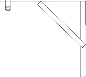 Wall Mount Pull Up Bar Side