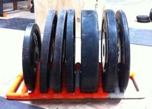 PVC Plate Rack