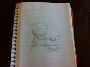 DIY Smoker Sketch