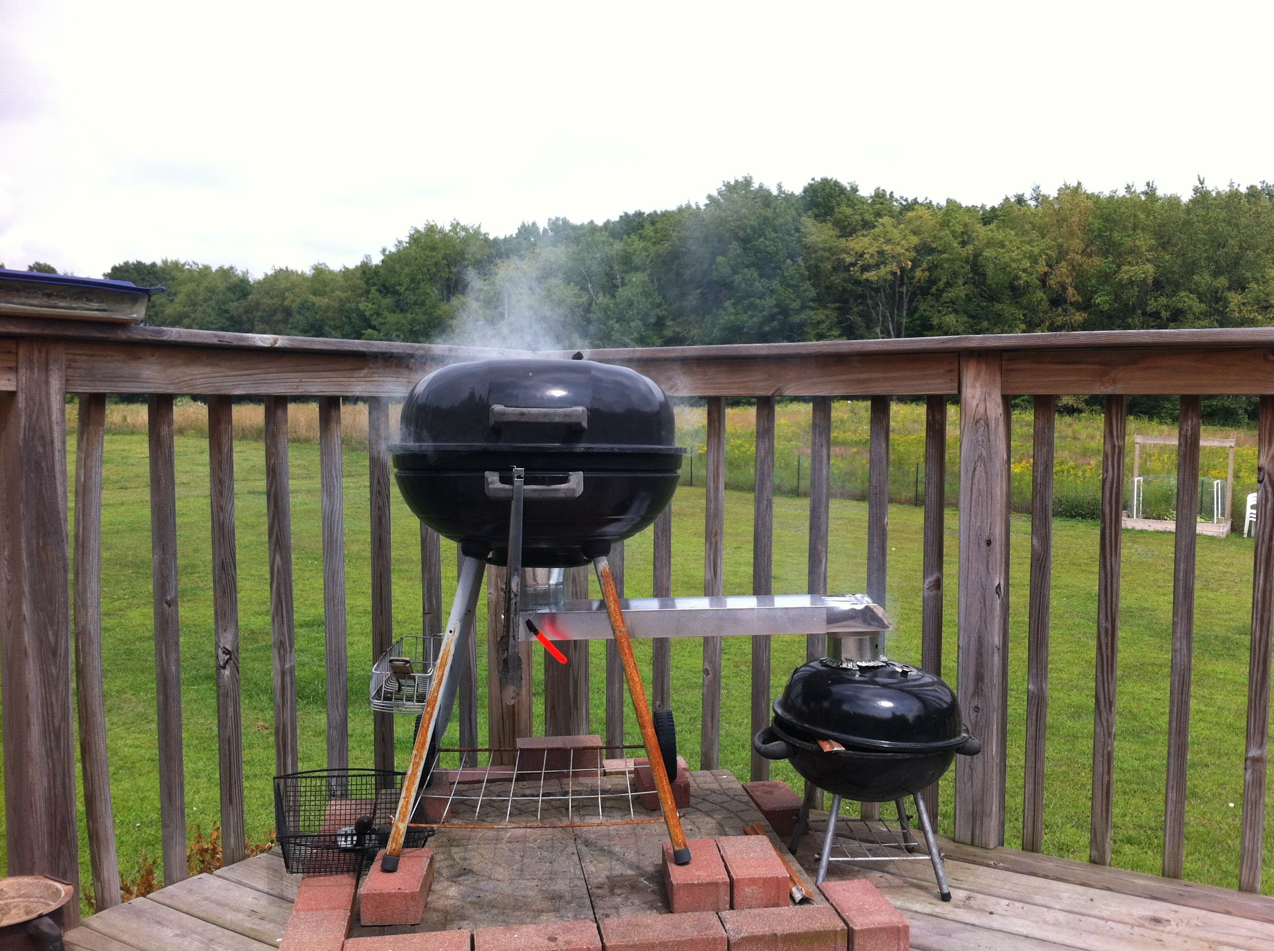 DIY BBQ Smoker | Garage Gym Guy