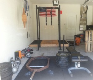 Ryan's Garage Gym