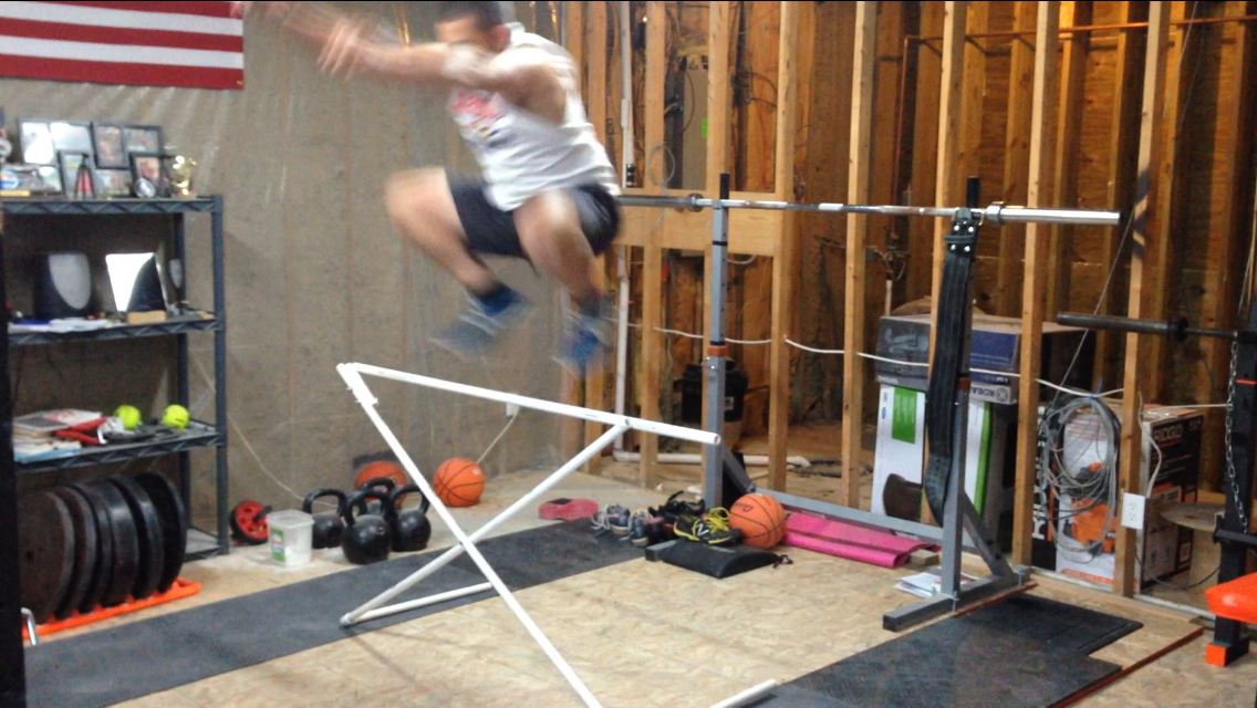 Garage gym guy liberate innovate dominate