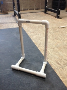 Simple PVC Hurdle